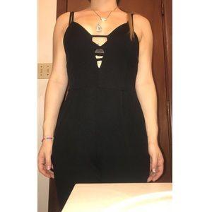Cute Black Jumpsuit